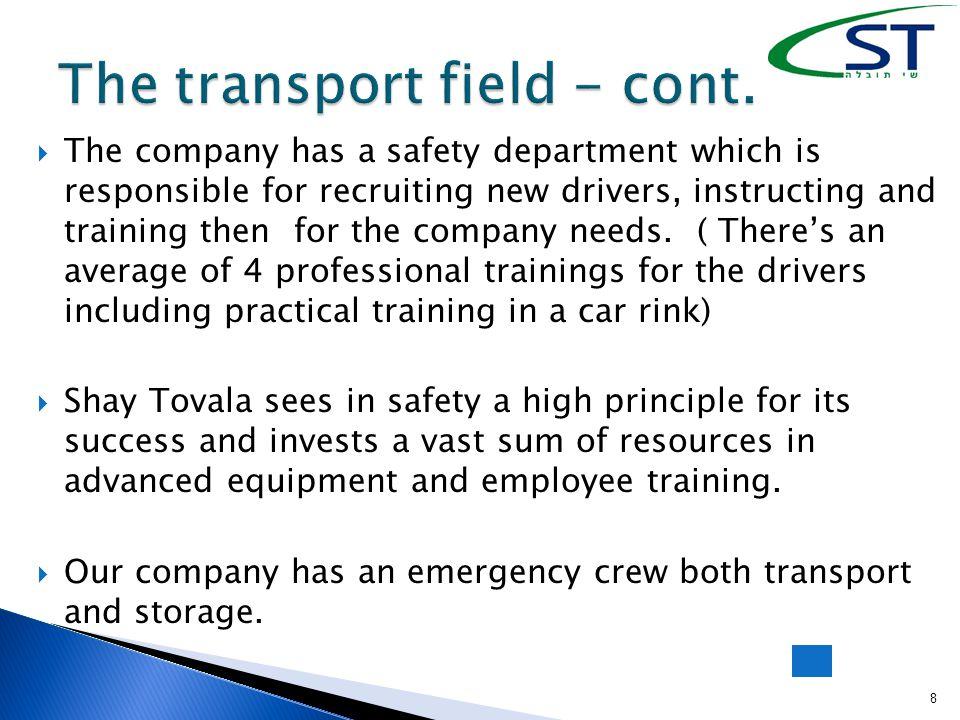  Shay Tovala has two storage sites for hazardous materials:  1.