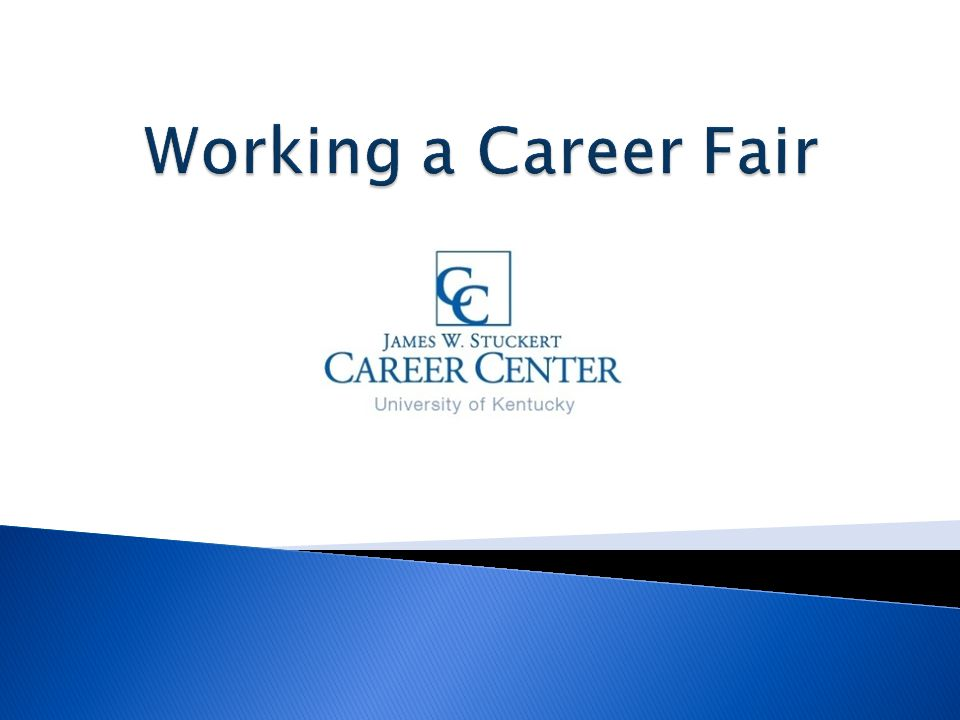 www.uky.edu/CareerCenter Join us on FACEBOOK, TWITTER and BIG BLUE NETWORK