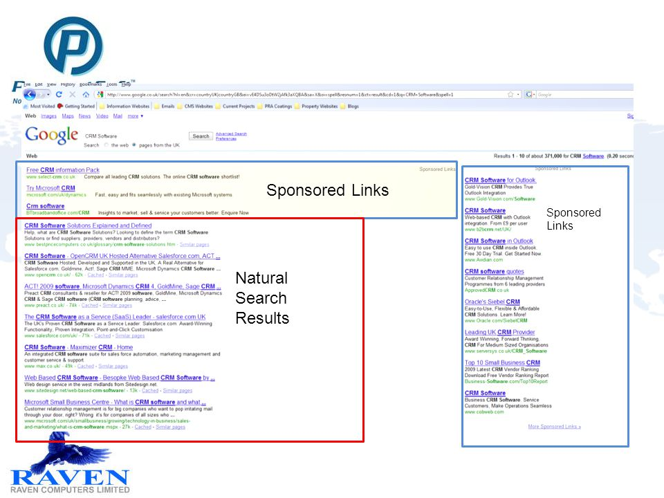 Sponsored Links Natural Search Results Sponsored Links
