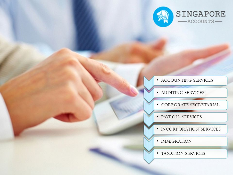 INCORPORATION SERVICES Our wealth of experience and expertise in Singapore company registration can ensure that the team of accountingservice.com.sg can help you incorporate your company in the best manner.