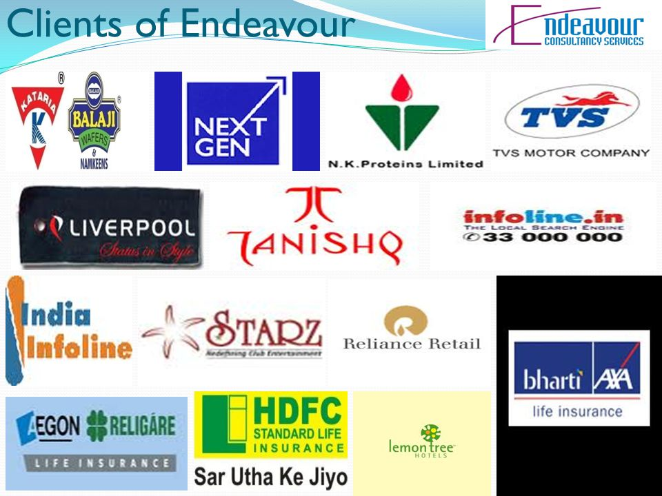 Clients of Endeavour