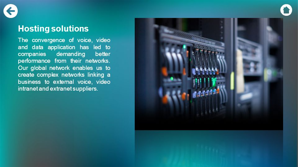 Our class-leading networking solutions provide better network performance Our MPLS network provides a fast, reliable way to move information between l