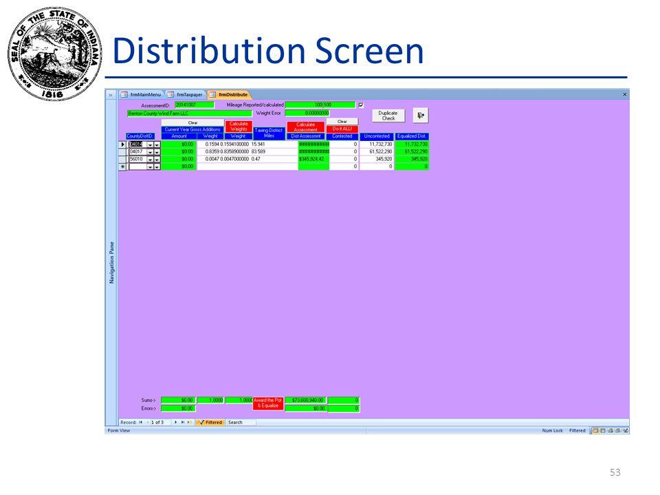 Distribution Screen 53