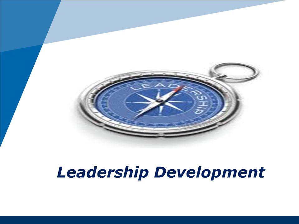 www.company.com Leadership Development