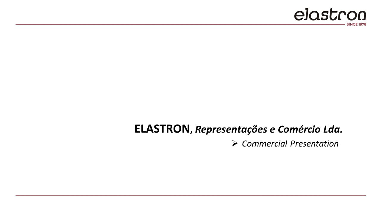ELASTRON Ltd.is a family business founded in 1978.