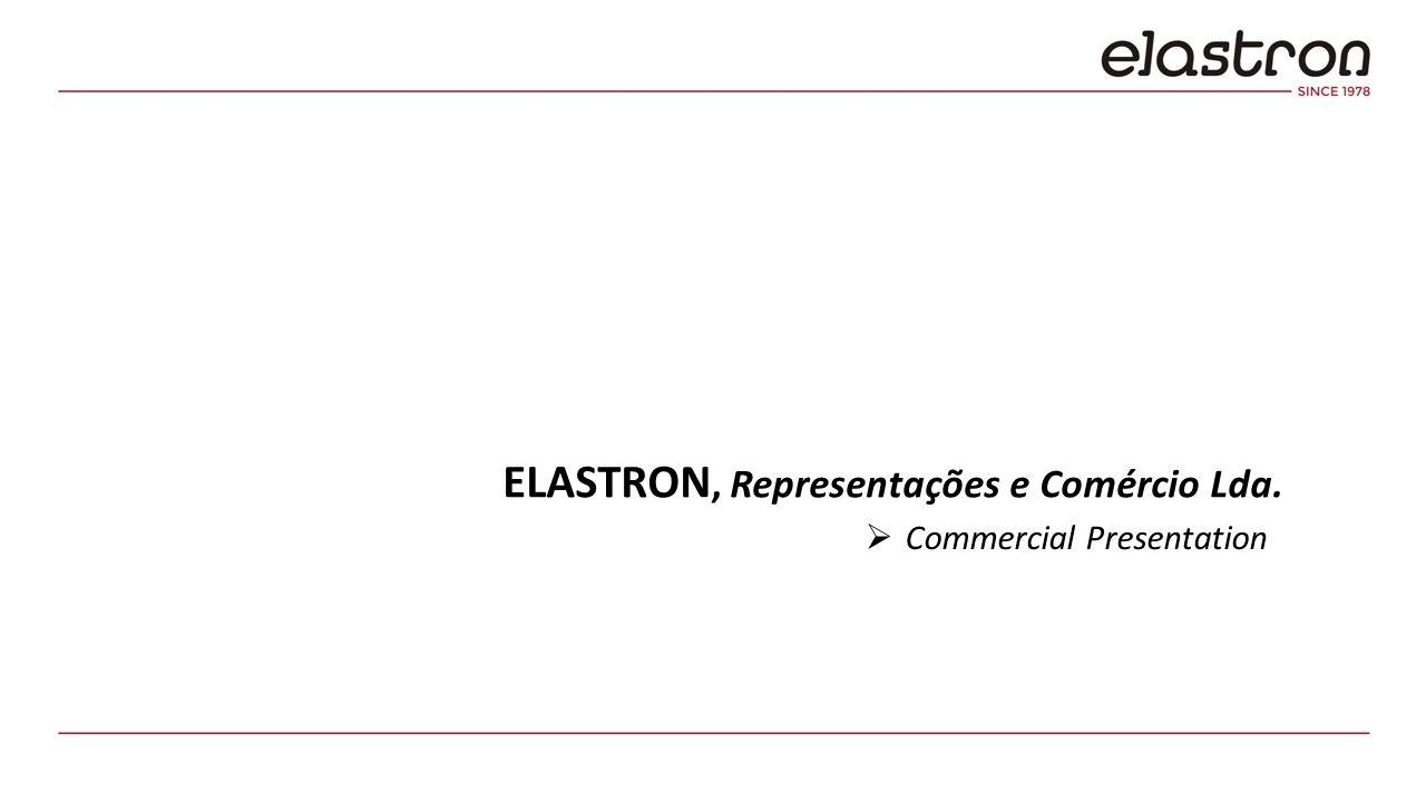 ELASTRON, Representações e Comércio Lda.  Commercial Presentation