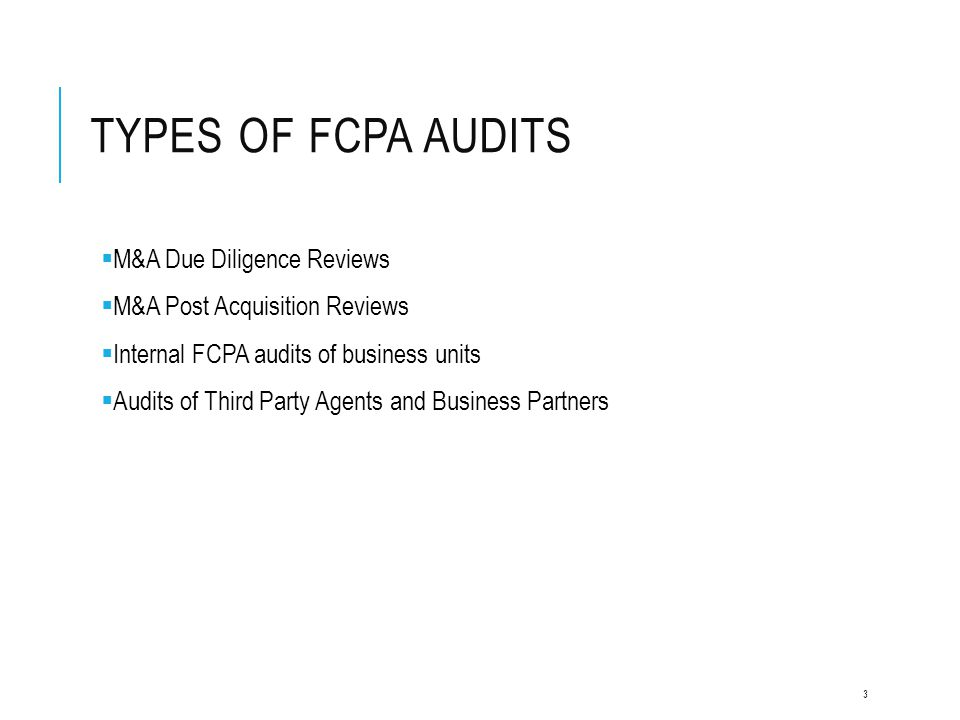 TRANSACTIONAL DATA ANALYSIS Run Individual Tests Focused On FCPA Risk  Manual Payments (SAP Payment Blocks and Methods)  Duplicate Invoices and Payments  Round Dollar Payments/Invoices  Compliance Sensitive Words  Compliance Sensitive Accounts  Credit Cash – Debit Expense  Sequential Invoices  Prohibited Vendors (OFAC, etc)  Authorization Limits  Offshore Bank Accounts 14