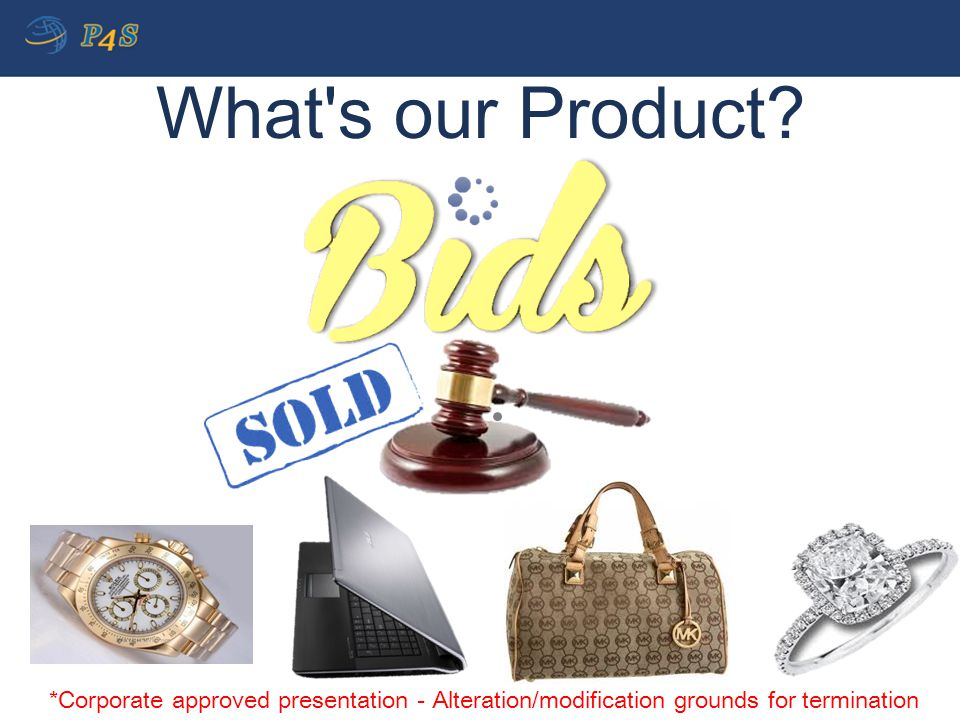 What's our Product? *Corporate approved presentation - Alteration/modification grounds for termination