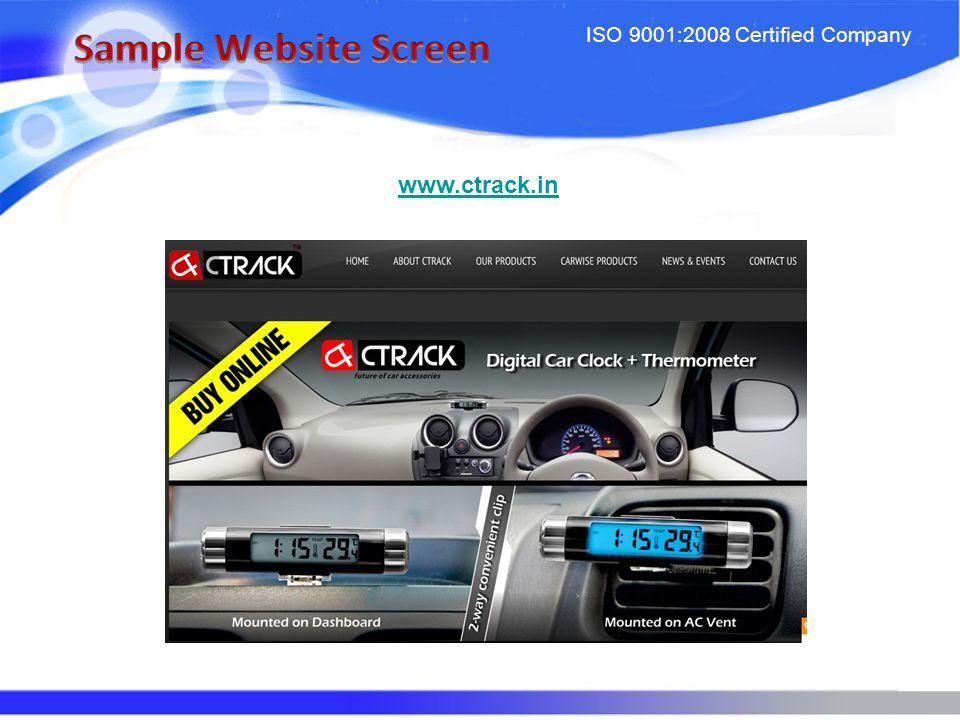 ISO 9001:2008 Certified Company www.destinyjewels.com