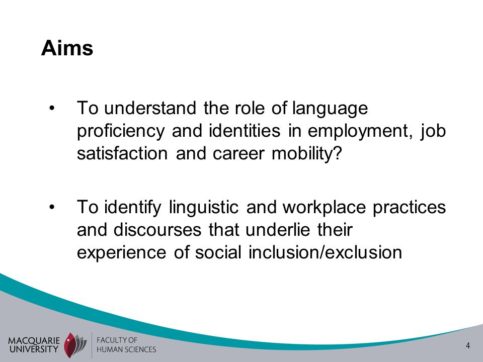 5 The role of multilingual practices and language learning in the Australian tourism industry Multisite ethnography Funded by a MQRDG Grant (2007 -2009) Directed by Ingrid Piller