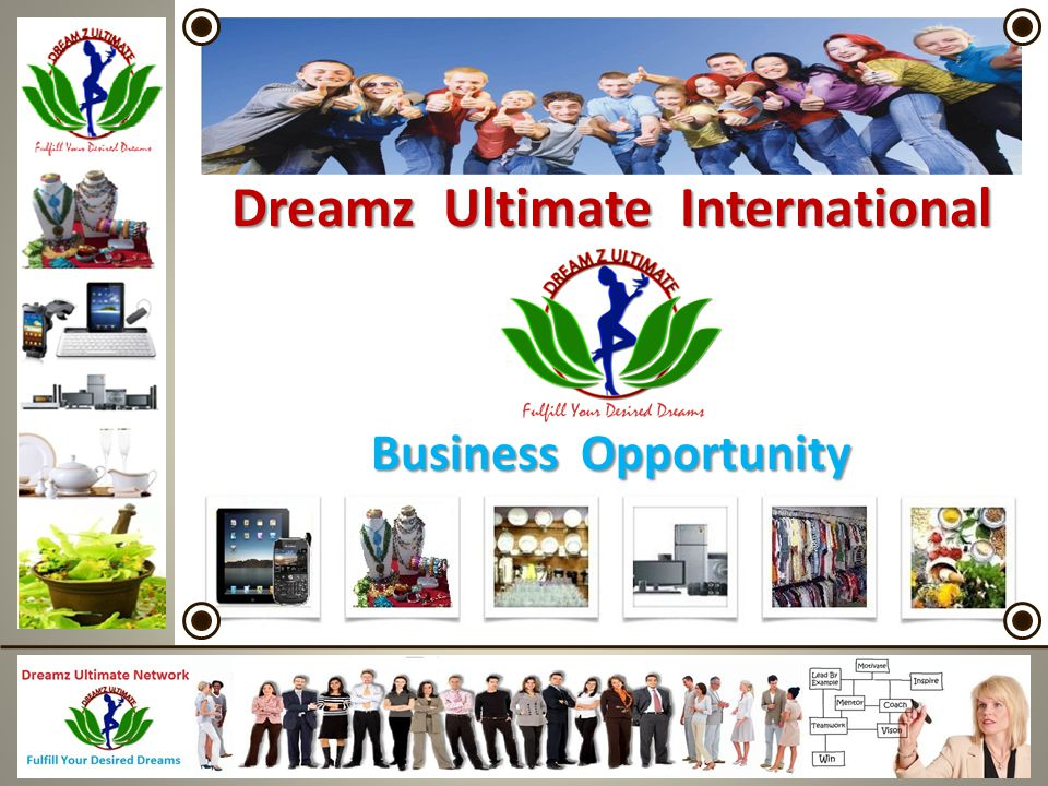 Dreamz Ultimate International Business Opportunity