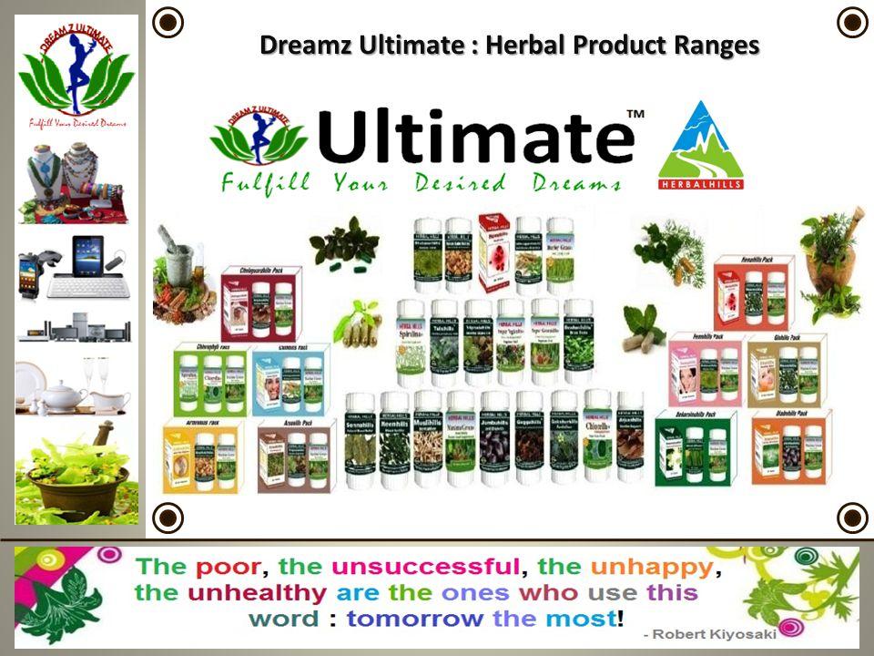 Dreamz Ultimate : Herbal Product Ranges