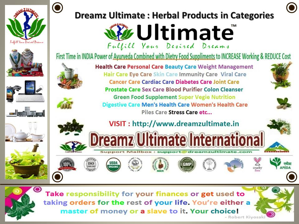 Dreamz Ultimate : Herbal Products in Categories