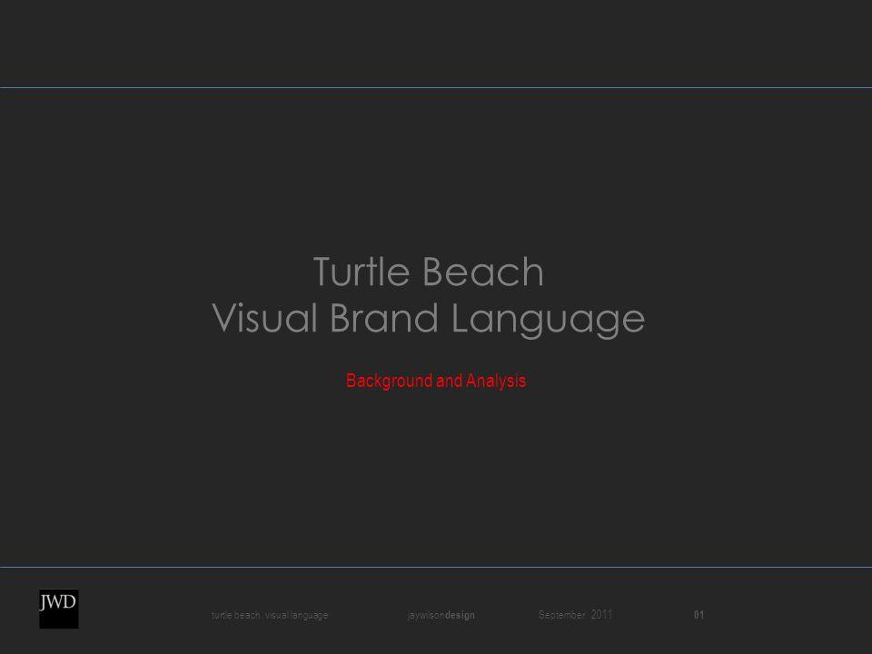 turtle beach visual language jaywilson design September 2011 01 Turtle Beach Visual Brand Language Background and Analysis