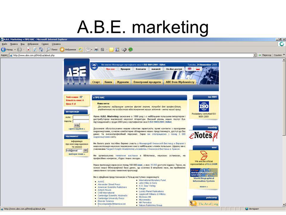 A.B.E. marketing