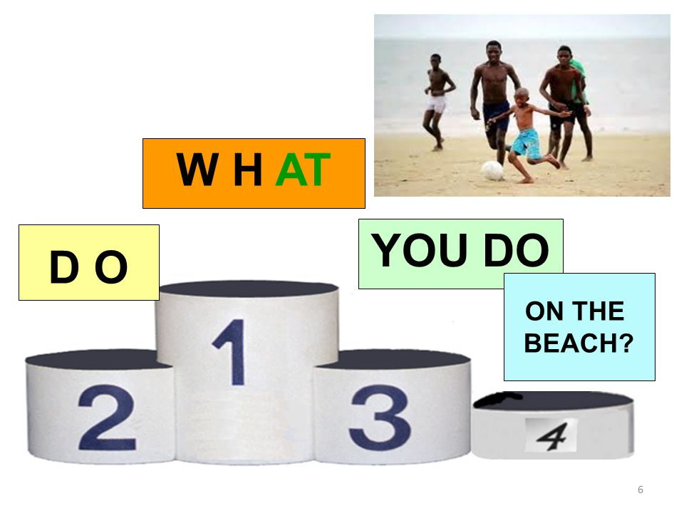 WHENDO YOU GO ? 12 3. I GO IN SUMMER INTERROGATIVA TO THE SEASIDE 4 TO THE SEASIDE AFFERMATIVA 5