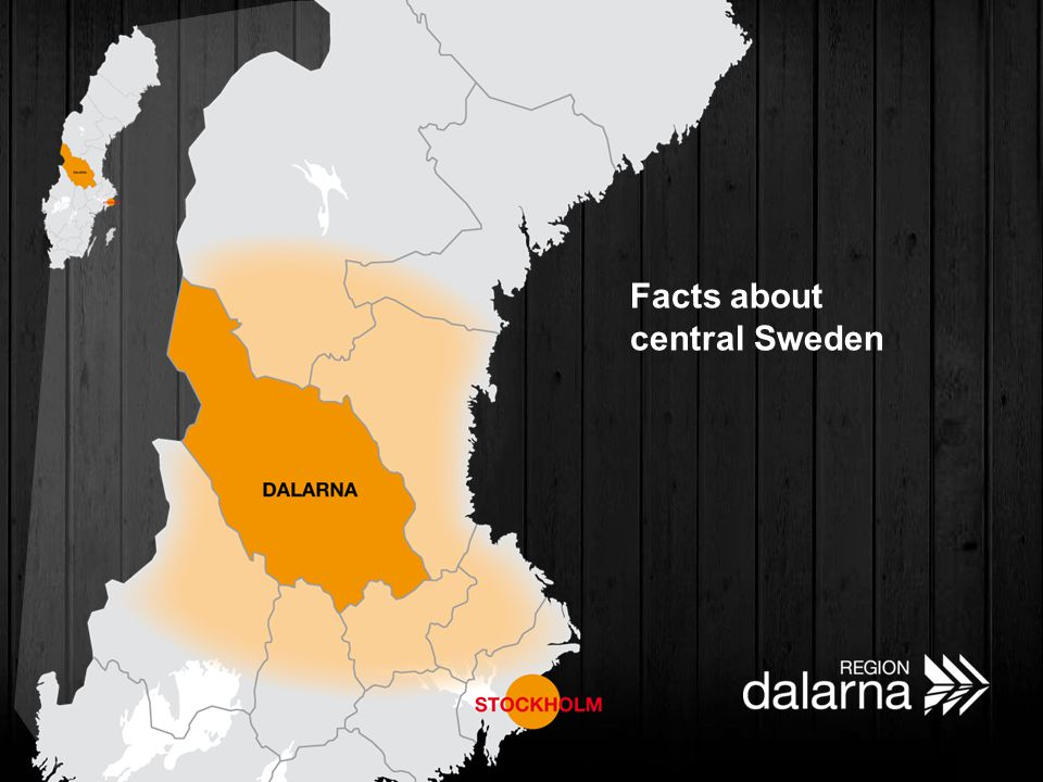 Facts about central Sweden