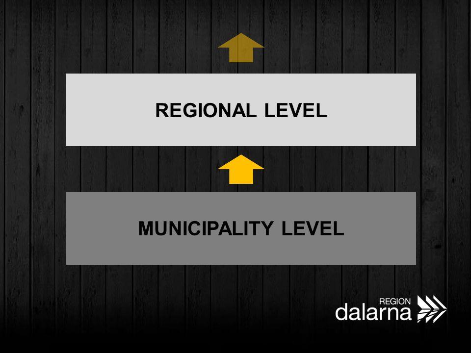 MUNICIPALITY LEVEL REGIONAL LEVEL