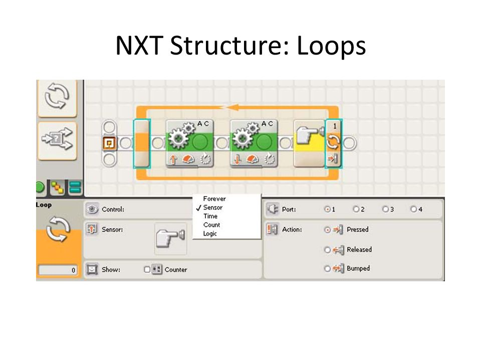 NXT Structure: Loops