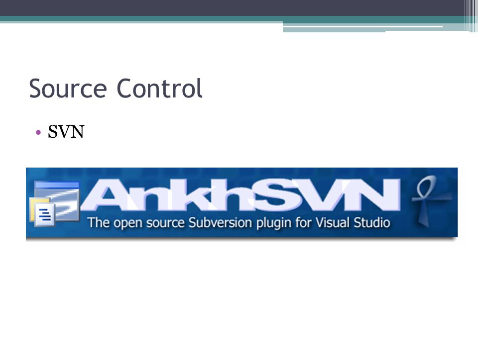 Source Control SVN