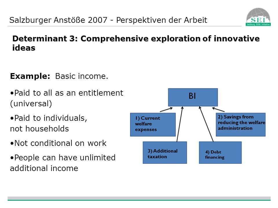 Salzburger Anstöße 2007 - Perspektiven der Arbeit VIELEN DANK FÜR IHRE AUFMERKSAMKEIT!