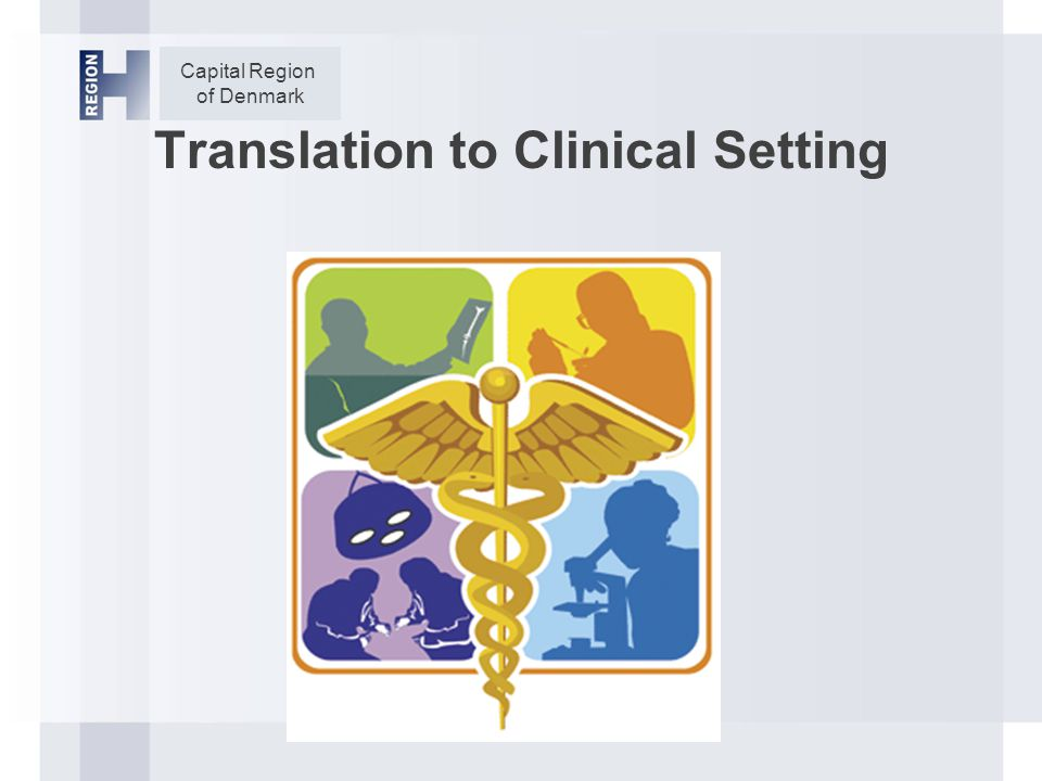 Capital Region of Denmark Translation to Clinical Setting