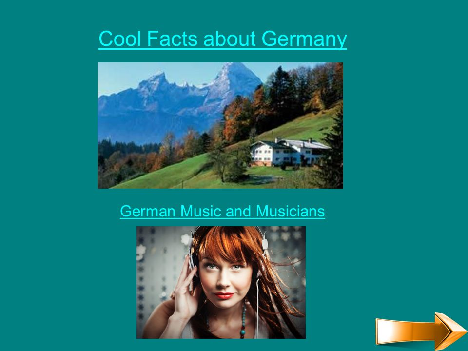 Cool Facts about Germany German Music and Musicians