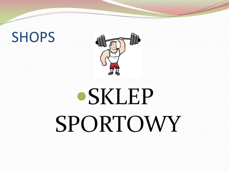 SHOPS SKLEP SPORTOWY