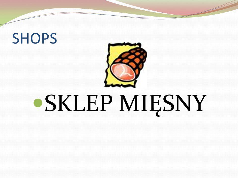 SHOPS SKLEP MIĘSNY