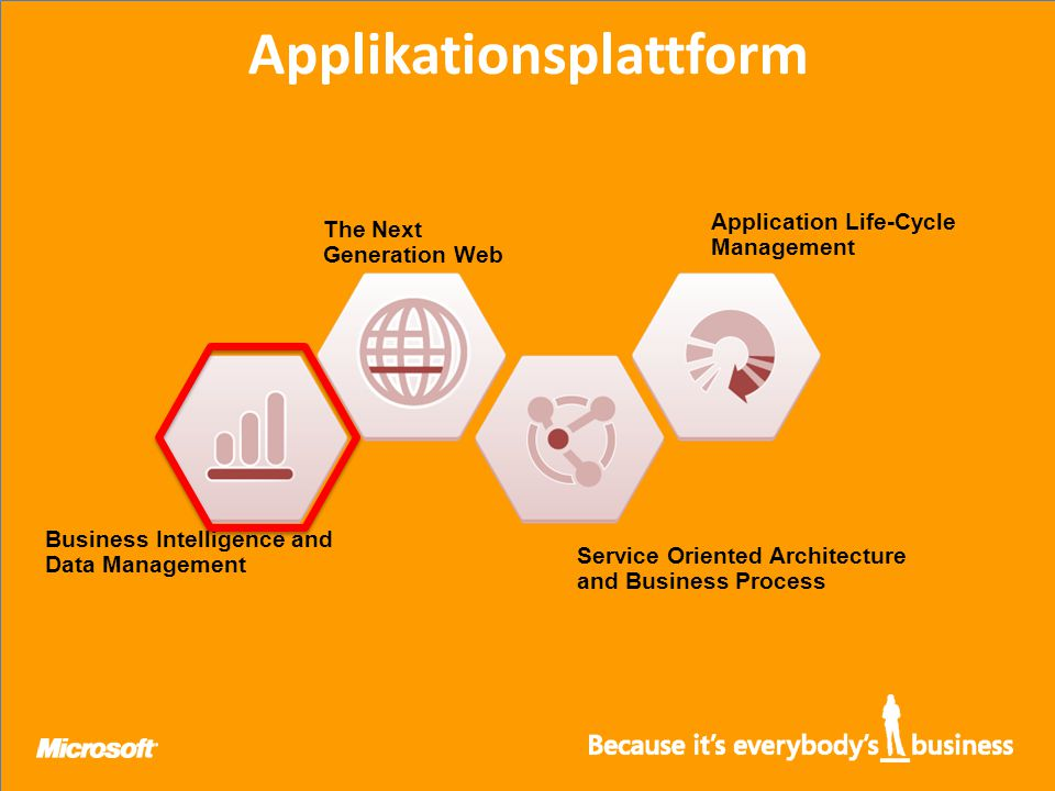 Applikationsplattform Business Intelligence and Data Management The Next Generation Web Service Oriented Architecture and Business Process Application Life-Cycle Management
