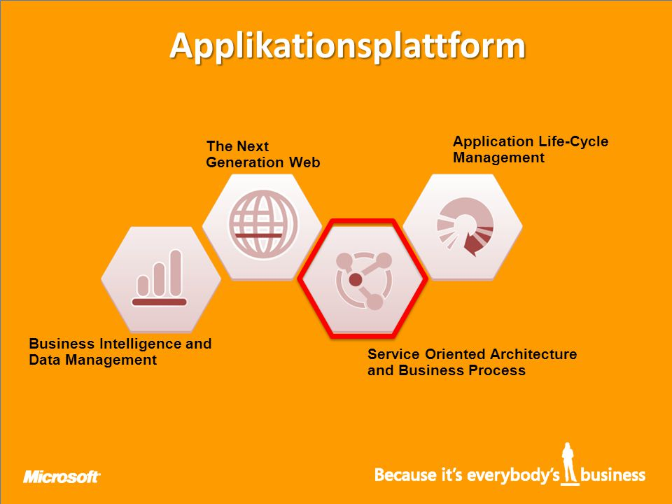 Business Intelligence and Data Management The Next Generation Web Service Oriented Architecture and Business Process Application Life-Cycle Management Applikationsplattform