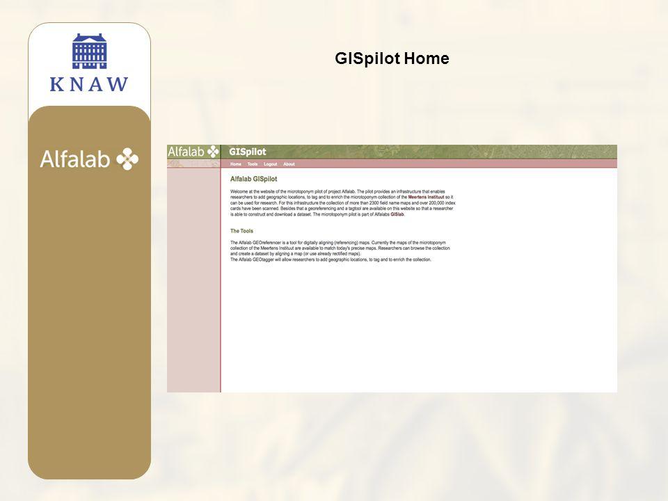 GISpilot Home