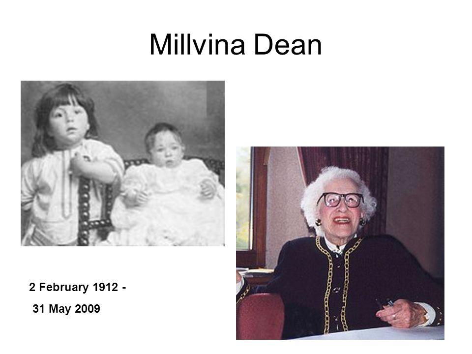 Millvina Dean 2 February 1912 - 31 May 2009