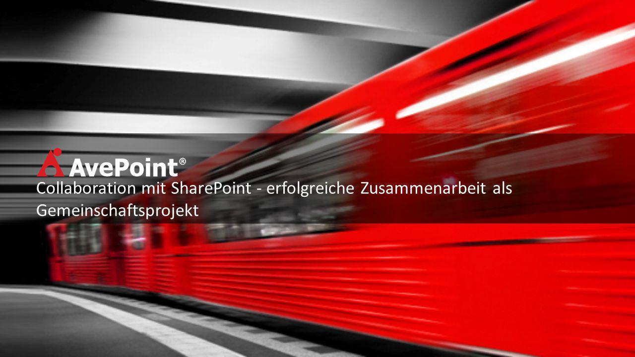 Collaboration mit SharePoint - erfolgreiche Zusammenarbeit als Gemeinschaftsprojekt