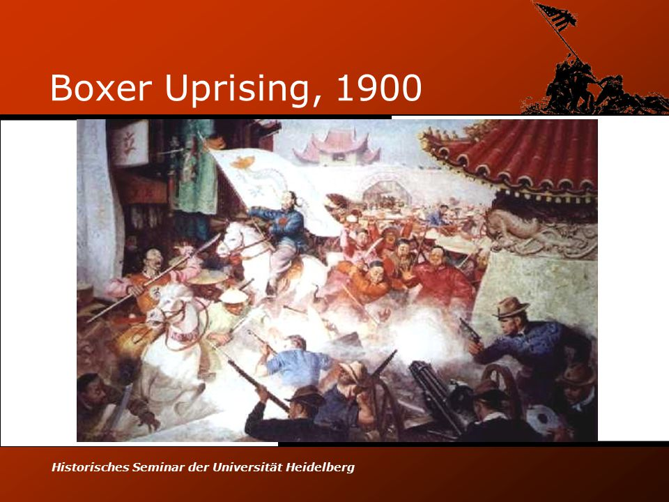 Historisches Seminar der Universität Heidelberg Boxer Uprising, 1900