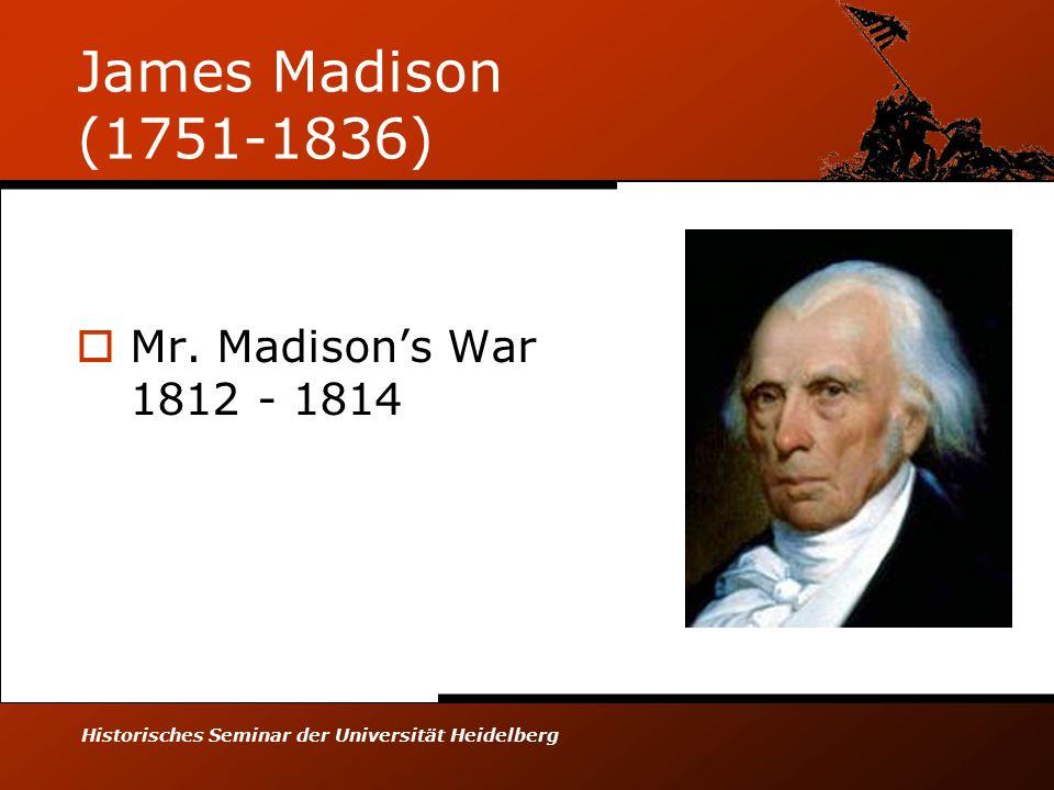 Historisches Seminar der Universität Heidelberg Thomas Jefferson (1743-1826)  Empire of Liberty