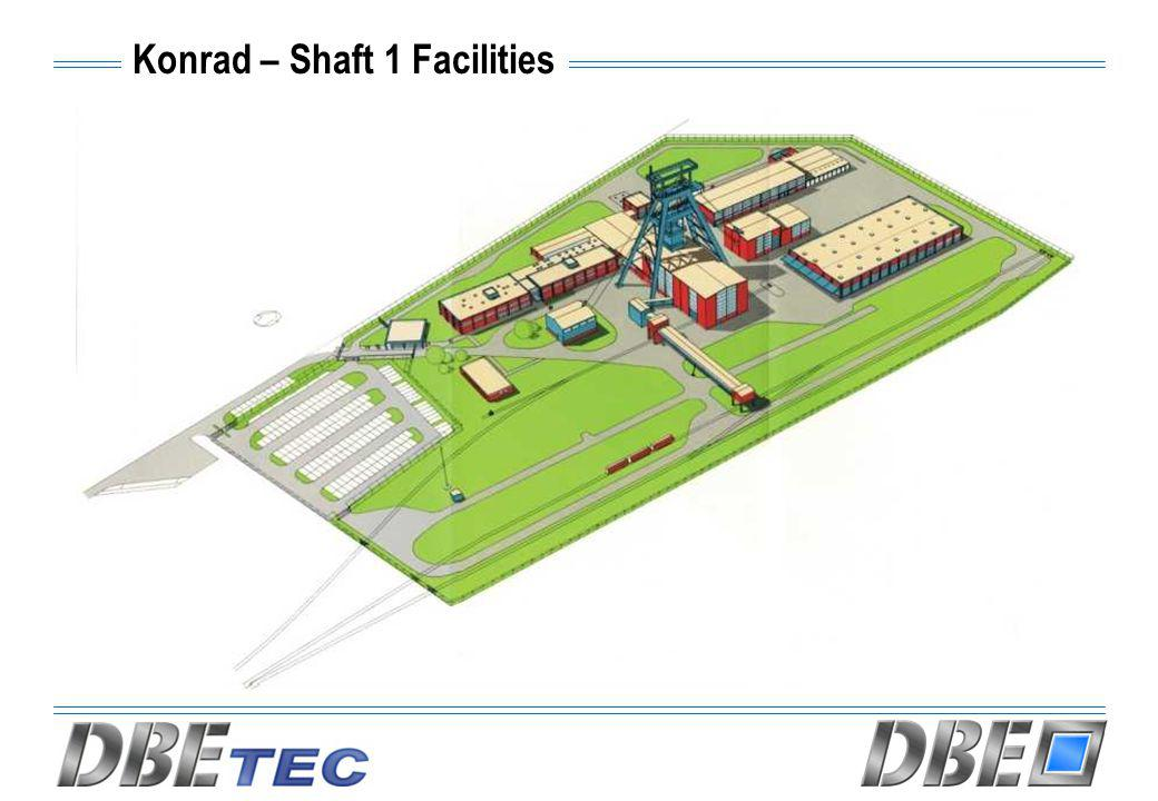 Konrad – Shaft 1 Facilities