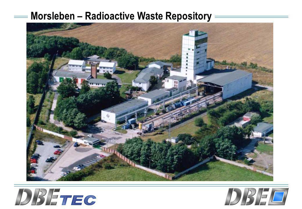 Morsleben – Radioactive Waste Repository