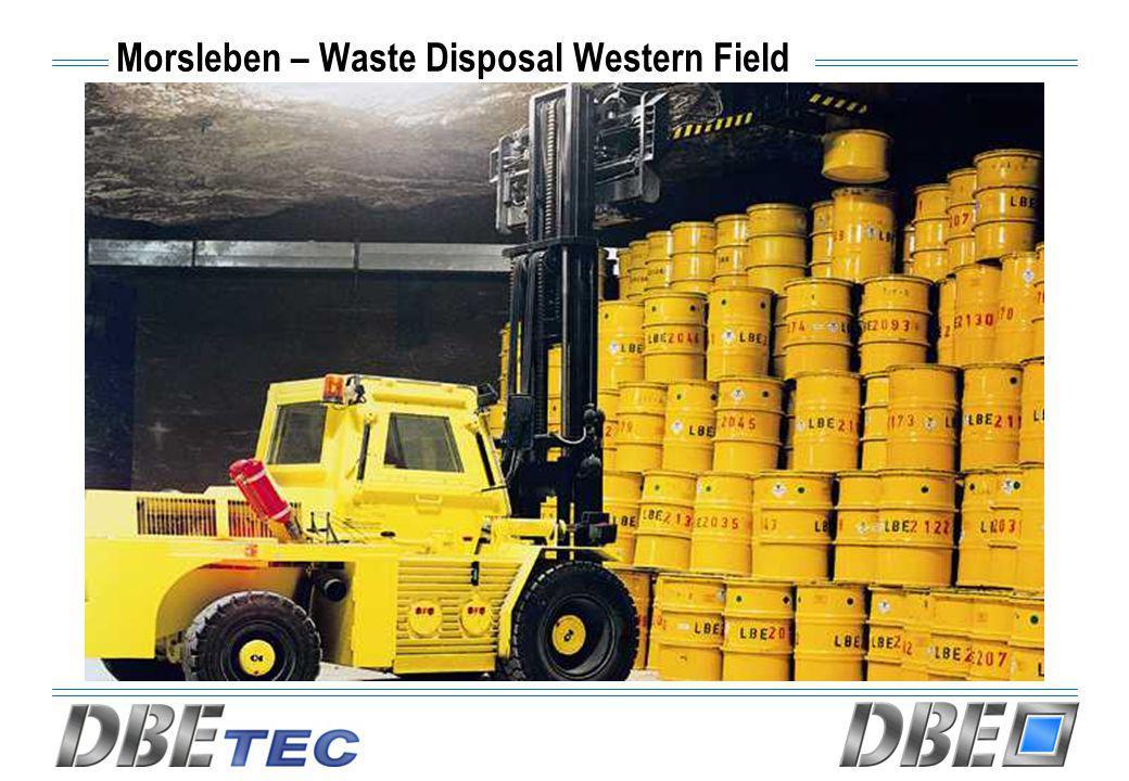 Morsleben – Waste Disposal Western Field