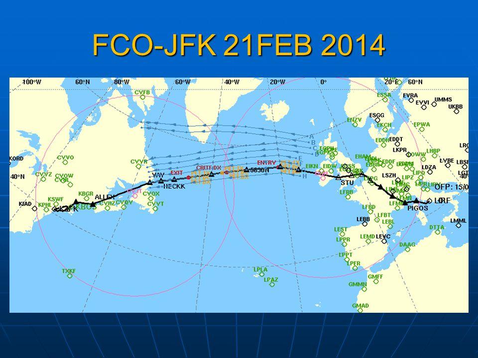 FCO-JFK 21FEB 2014