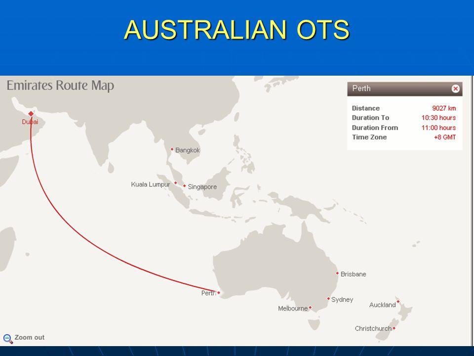 AUSTRALIAN OTS