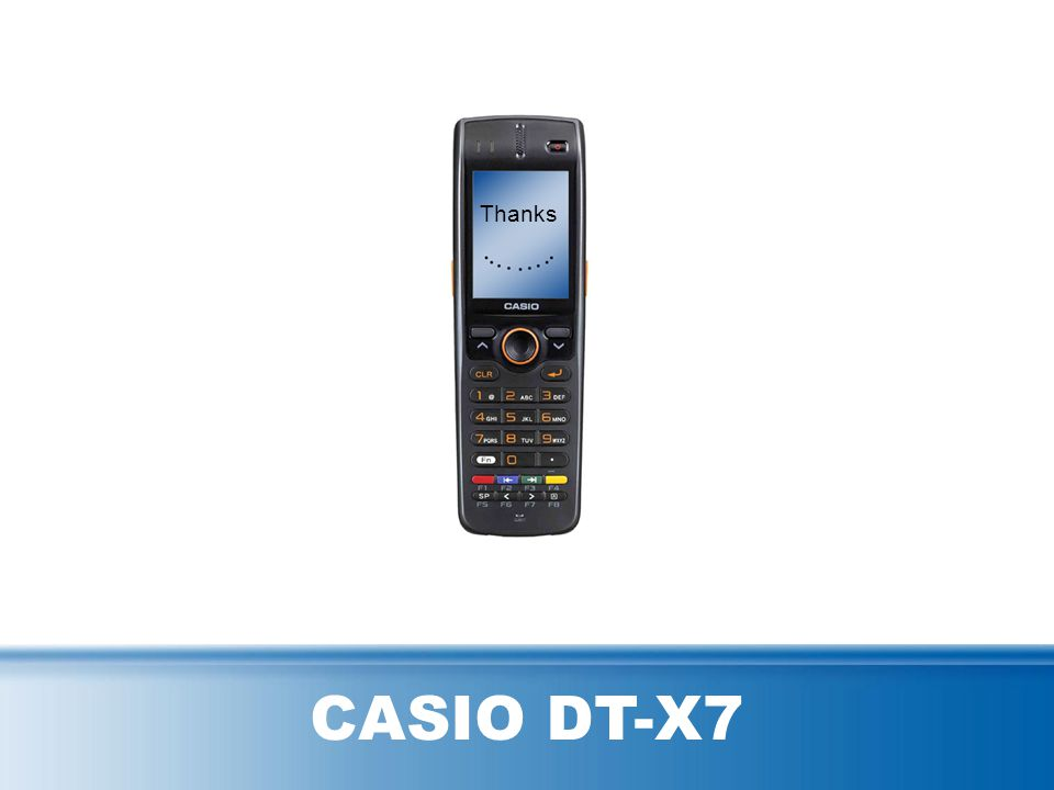 No matter if in retail, POS, warehouse etc., the DT-X7 offers with its ergonomic S-form and light weight design comfortable and fatigue-free operabili