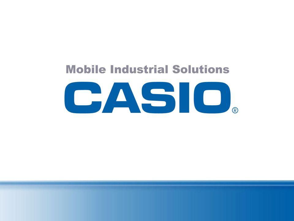 CASIO DT-X7: Daten CPU PXA270 416MHz BetriebssystemMicrosoft ® Windows ® CE 5.0 (englische Version) Speicher RAM64 MB F-ROM64 MB (ca. 29 MB frei verfü