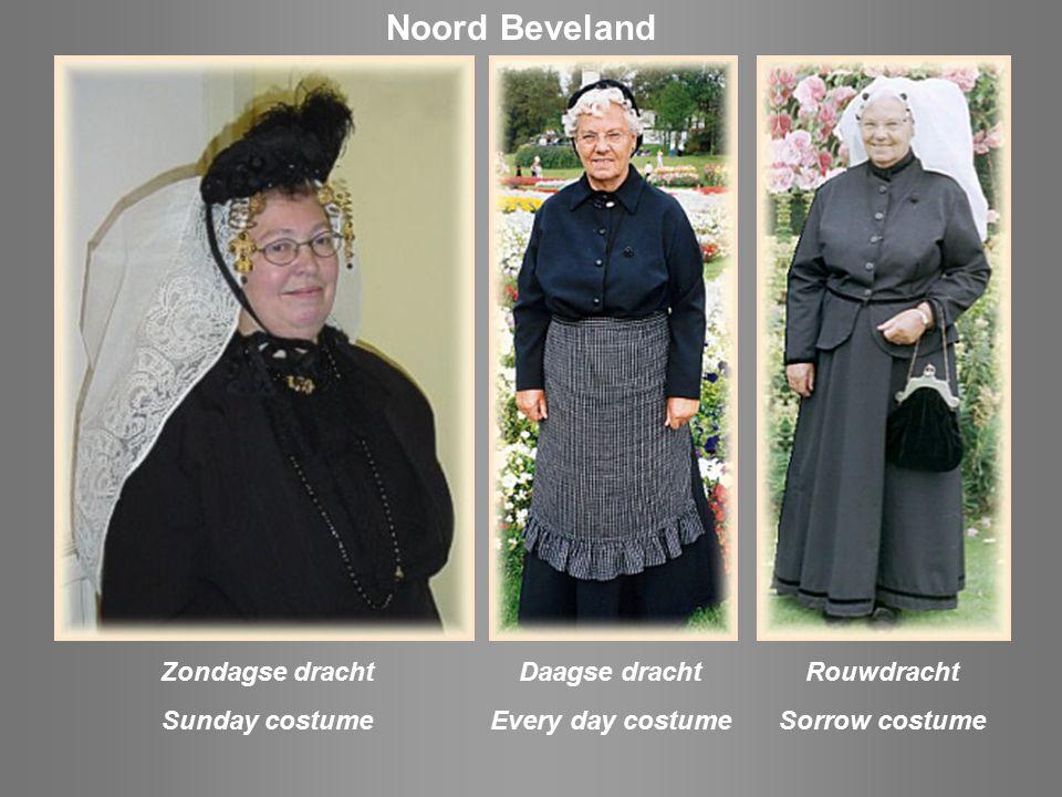 Zondagse dracht / Sunday costume St Joostland
