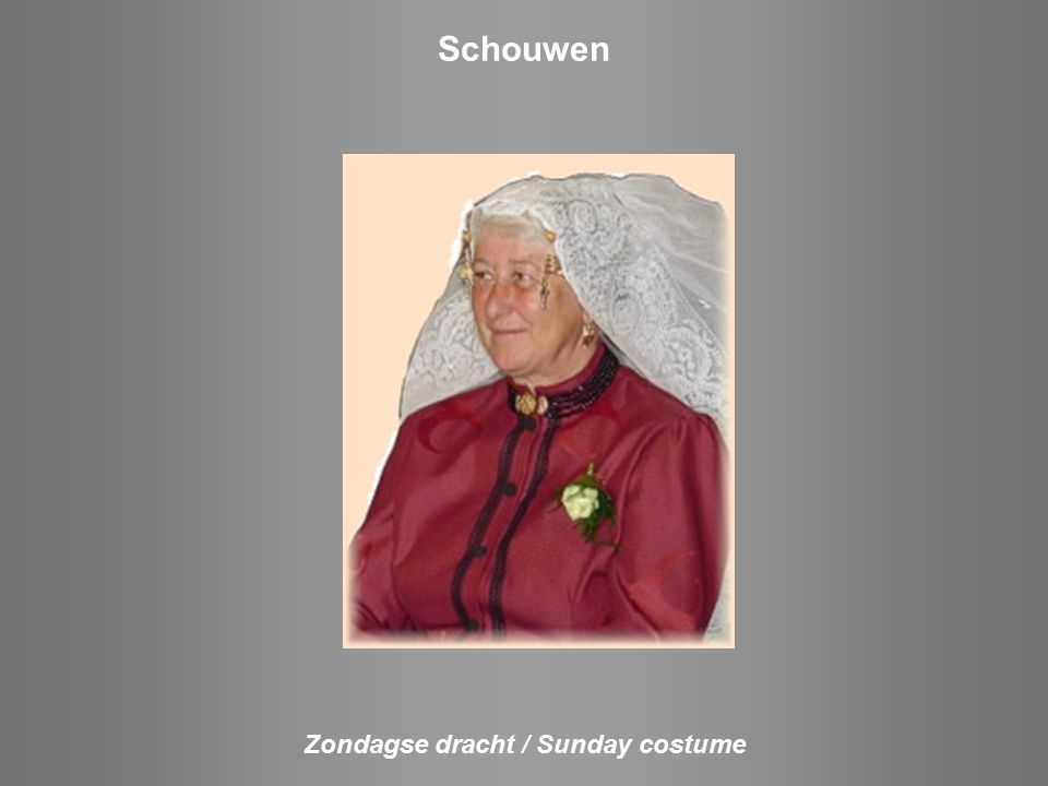 Noord Beveland Zondagse dracht Sunday costume Daagse dracht Every day costume Rouwdracht Sorrow costume