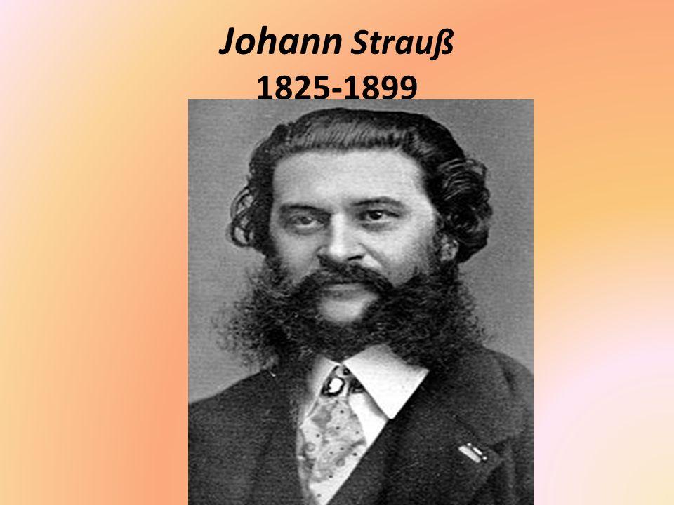 Johann Strauß 1825-1899