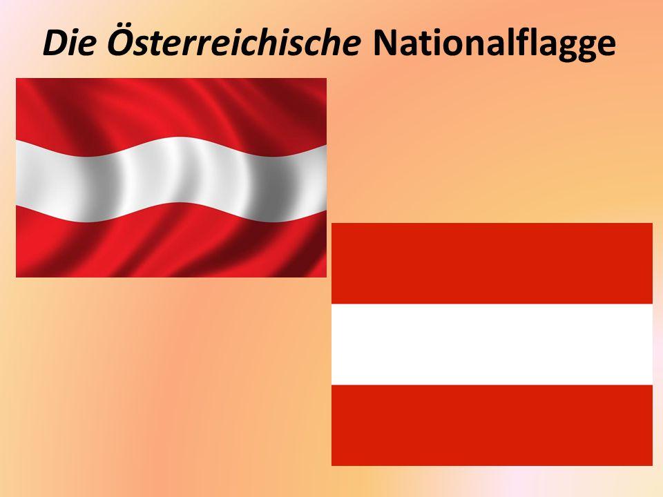 Die Österreichische Nationalflagge