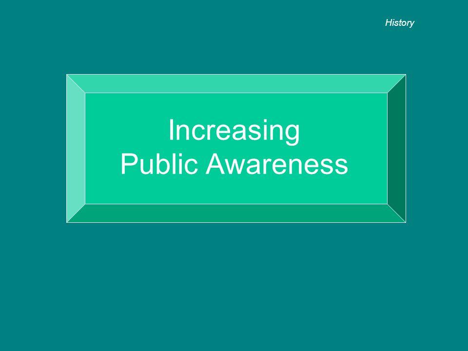 Increasing Public Awareness History