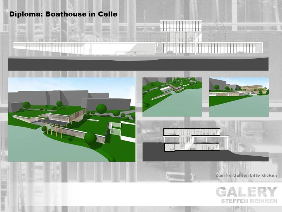 Zum Fortfahren bitte klicken Diploma: Boathouse in Celle