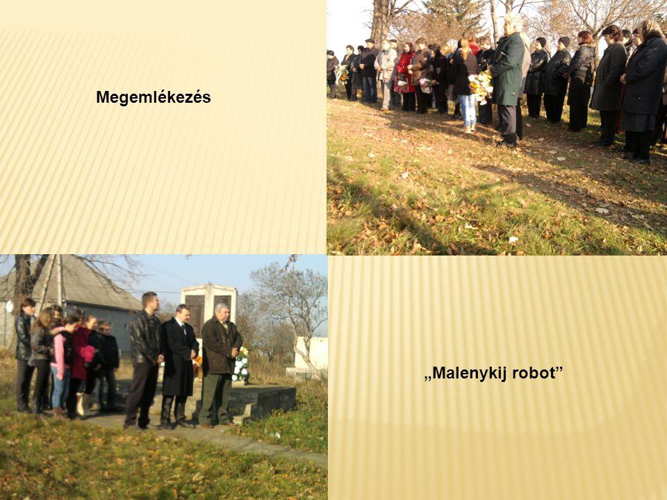 """Megemlékezés """"Malenykij robot"""